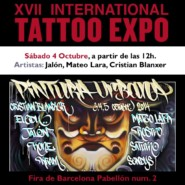 "04.10.14 – Exhibición Graffiti ""XVII BCN TATTOO EXPO 2014"""