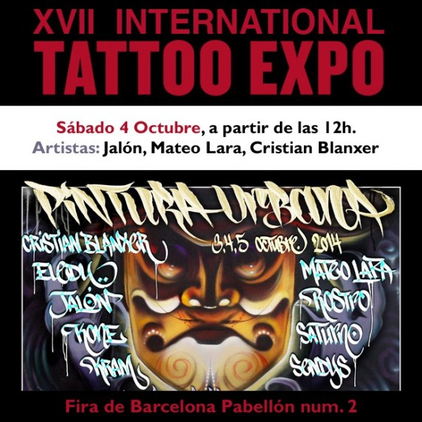 cartel-barcelona-tattoo-expo-graffiti-2014
