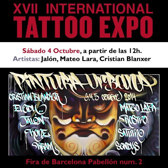 04.10.14 – Exhibición Graffiti «XVII BCN TATTOO EXPO 2014»