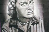 GRAFFITI RETRATO REALISTA – Martorell. ©2014 [Espray]