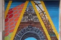 Persiana graffiti inmobiliaria HABIT