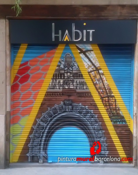 persiana-mural-graffiti-barcelona-arc-triomf