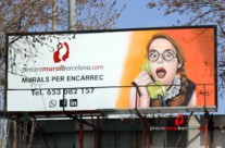 MURAL GRAFFITI PUBLICITARIO
