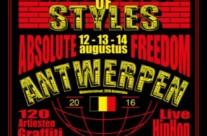 12.08.16 – Exhibición Graffiti MOS ANTWERPEN (Bélgica)