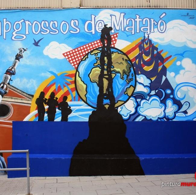 Mural Colla Capgrossos de Mataró