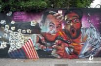 Mural graffiti MOS Antwerpen 2016