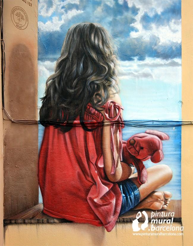 detalle-mural-trampantojo-realista-medianera
