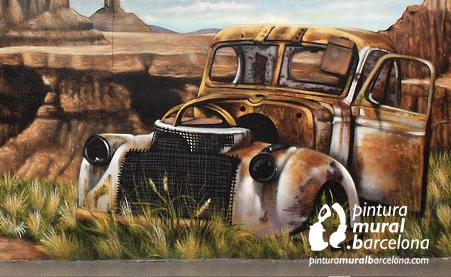 mural-graffiti-coche-route66-desierto-garaje