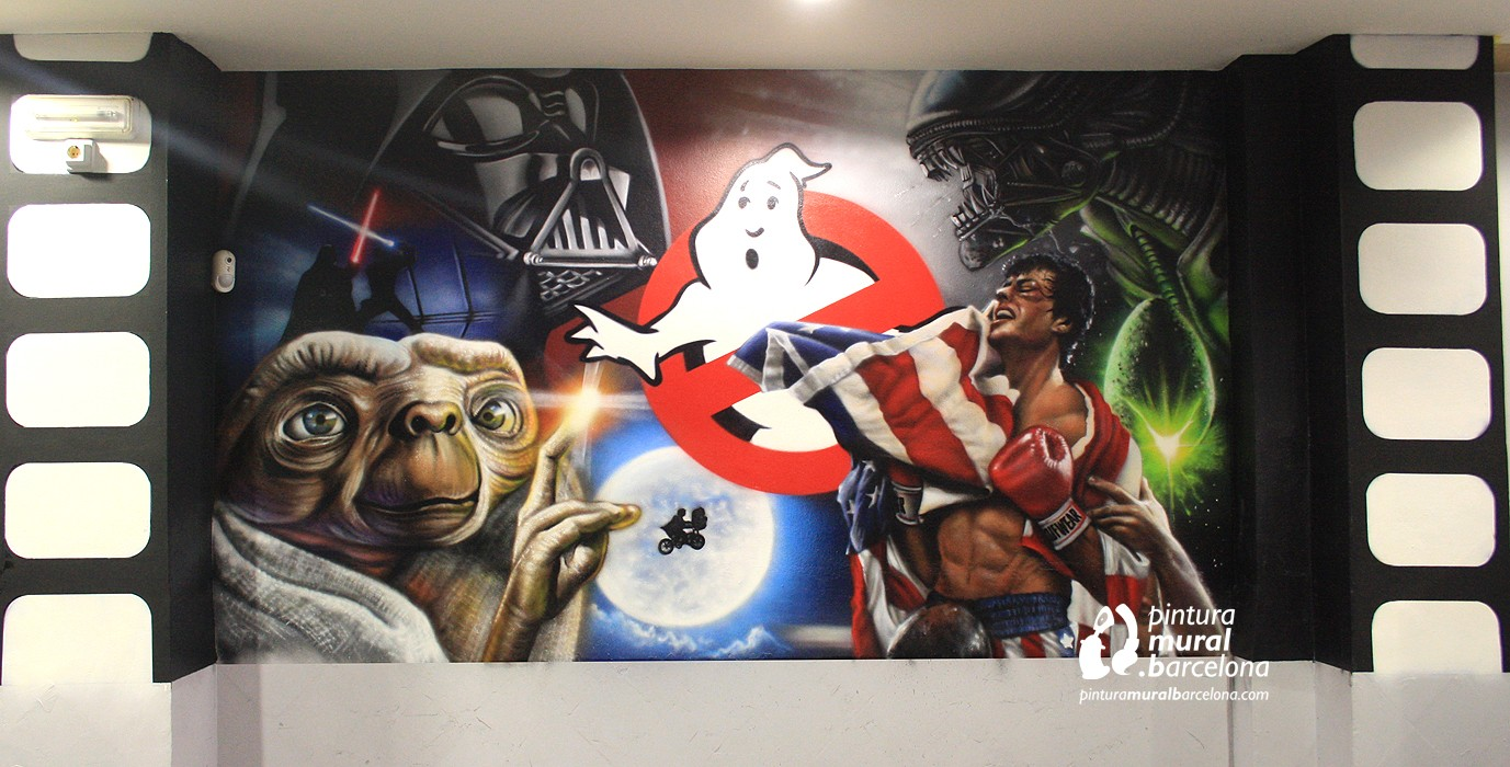mural-peliculas-graffiti-movies-90-rocky-alien-et-starwars