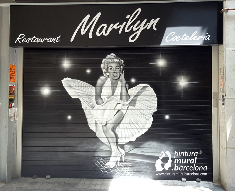graffiti-persiana-marilyn-barcelona-bar