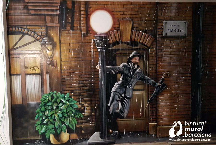 mural-graffiti-lluvia-cantando-fred-astaire-marilyn
