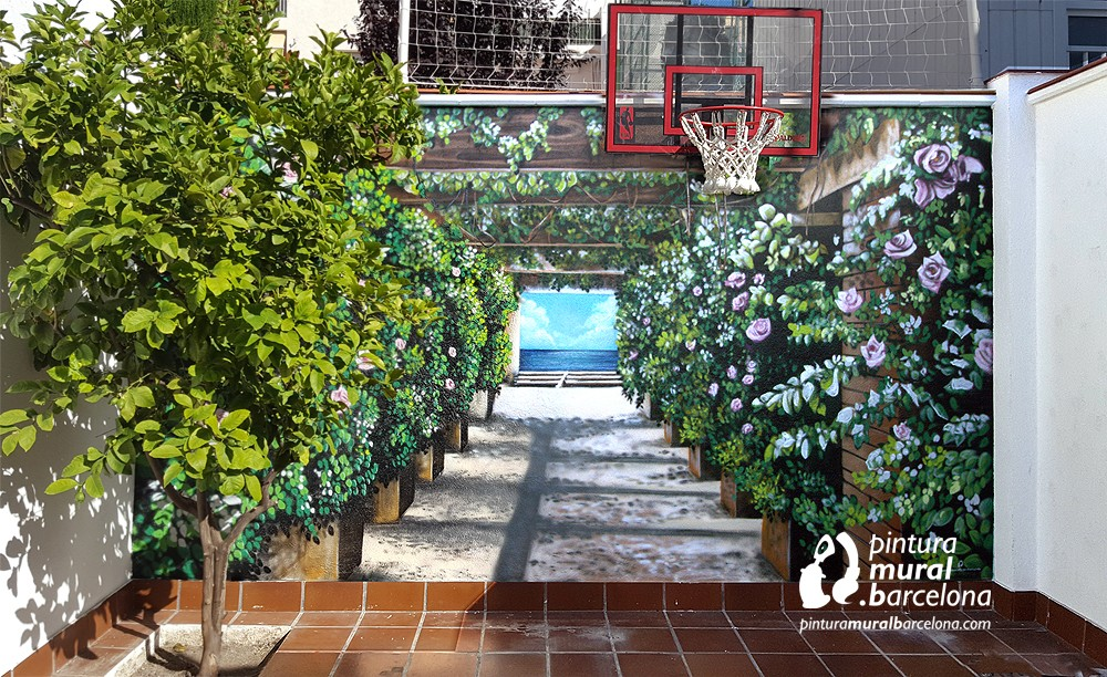 mural-patio-3d-perspectiva-graffiti-profundidad