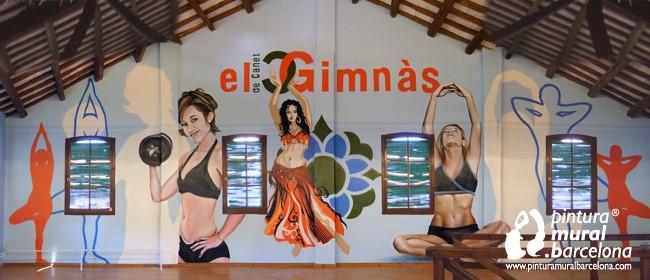 gym-graffiti-mural-gimnasio-danza-baile