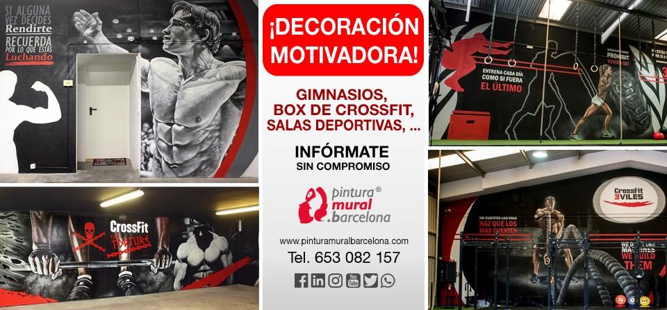 murales-motivadores-gym-crossfit-pesas-graffiti