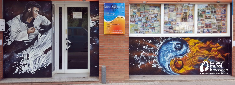 taekwondo-graffiti-decorado-crossfit-pesas-culturismo