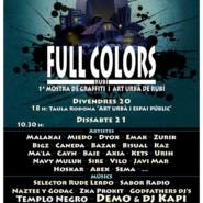 20-21.10.17 – Exhibición GRAFFITI 'FULL COLORS', Rubí