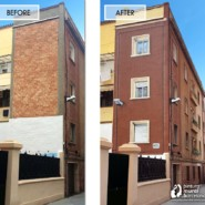 El canal Betevé emite un reportaje sobre unos de nuestros murales trampantojos en Barcelona