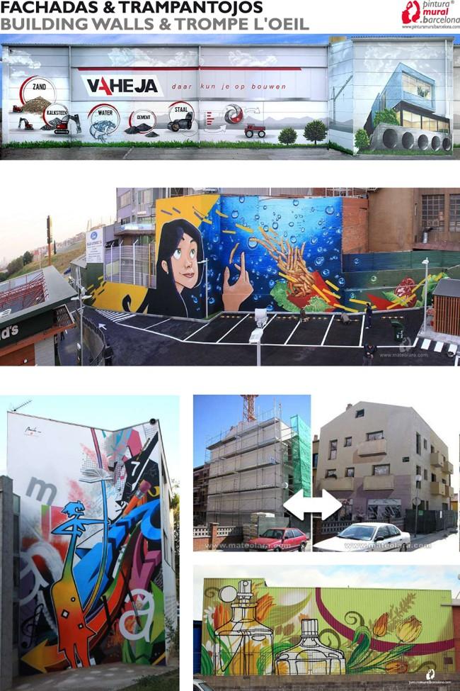 Portfolio download pdf pintura mural barcelona - Pintura mural barcelona ...