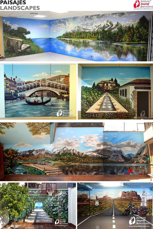 Ya disponible el nuevo portfolio de pintura mural - Pintura mural barcelona ...