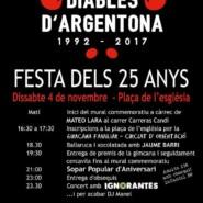 "04.11.17 – Exhibición GRAFFITI ""DIABLES D'ARGENTONA"" Argentona"