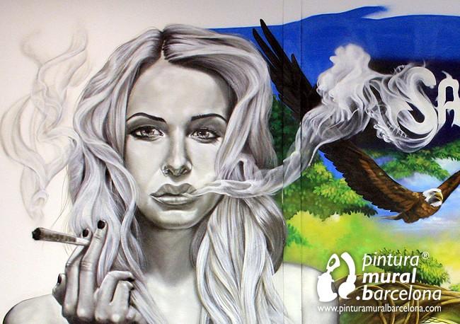 mural-graffiti-girl-weed