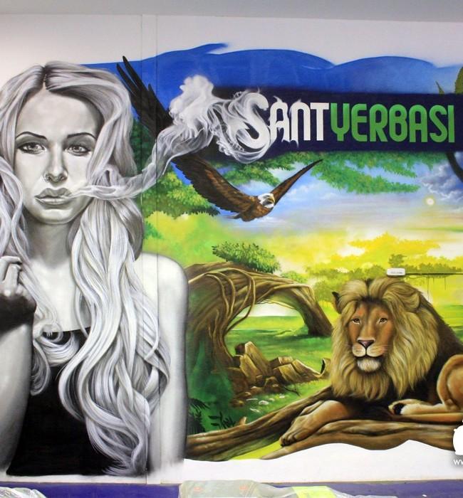 GRAFFITI GROW SHOP SANTYERBASI