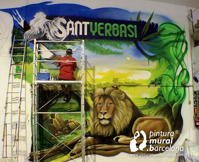 mural-graffiti-landscape-weed