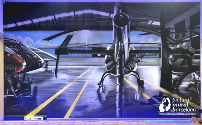 mural-graffiti-escape-room-escapem-bajo-zero-hangar