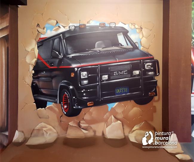 mural-graffiti-photocall-museo-ilusiones-furgoneta-equipo-a