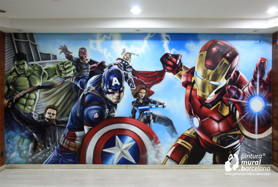 GRAFFITI MARVEL