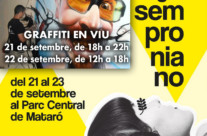 21-22.09.18 – Exhibición Graffiti SEMPRONIANA'MRKT 2018,Mataró (Barcelona)