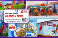 MURALES EN COLEGIOS Y PATIOS