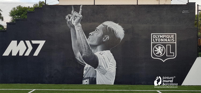 mural-graffiti-mariano-diaz-futbol-madrid