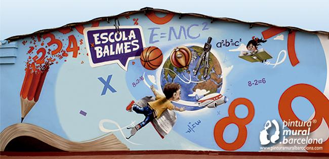 mural-pintado-primaria-colegio
