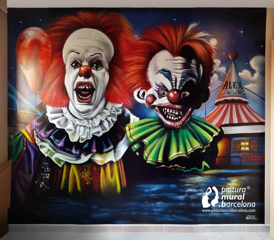 mural-it-graffiti-clowns-killers