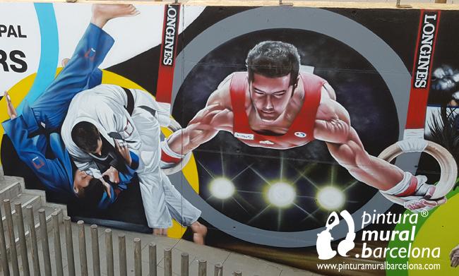 mural-deportivo-toni-sors-santvicenç-gym
