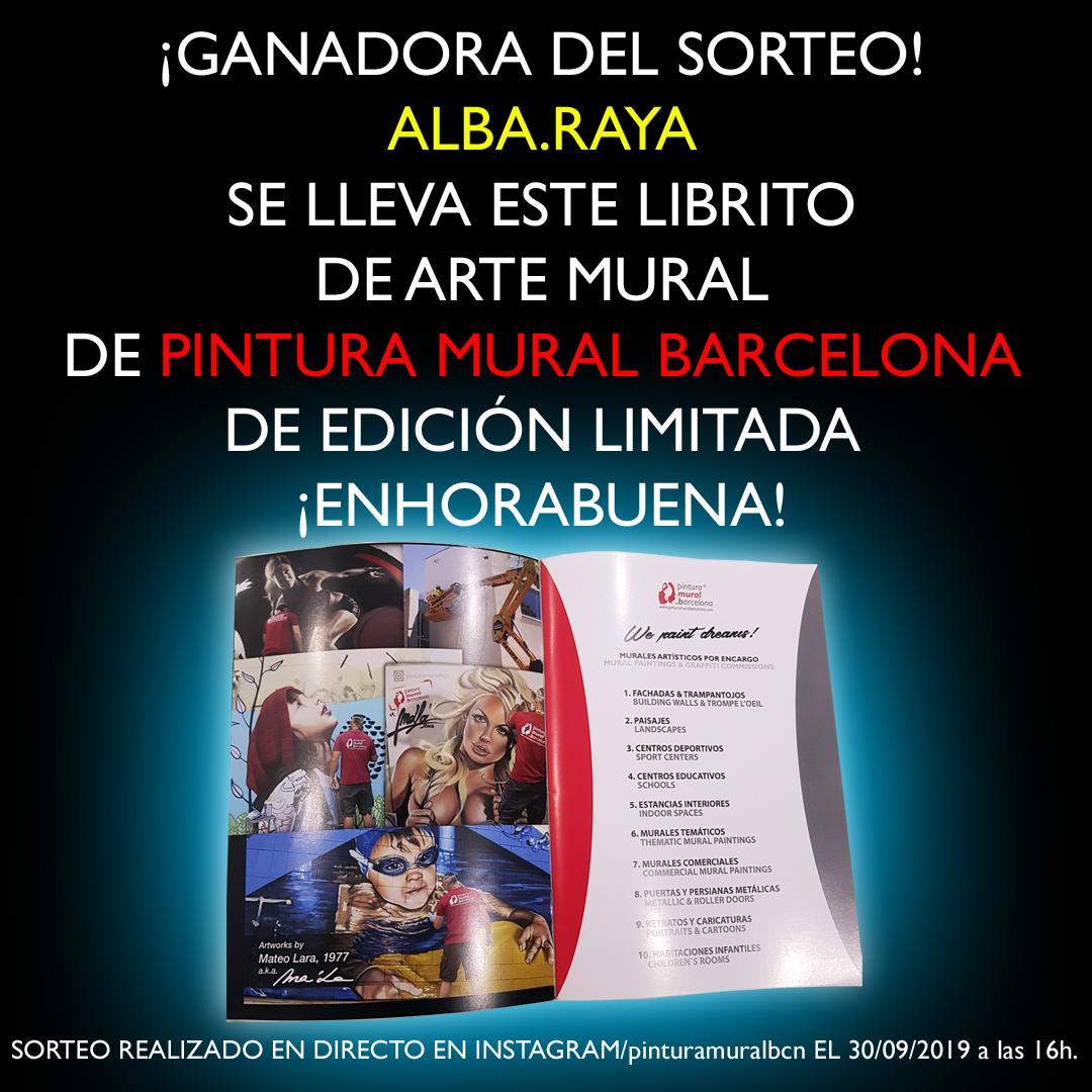 30.09.19 – YA TENEMOS GANADORA del SORTEO en INSTAGRAM