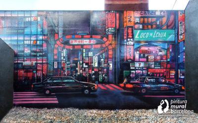 MURAL GRAFFITI TOKIO