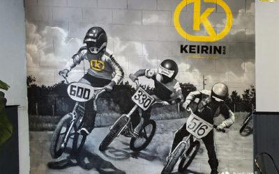 MURAL GRAFFITI CICLISMO BMX