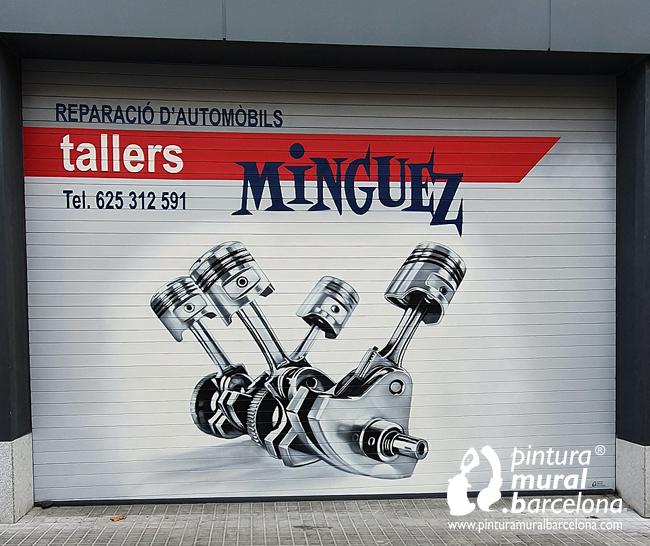 persianas-pintadas-taller-mecánico-pistones
