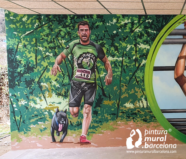 mural-graffiti-olllu-racers-spartan-training-man