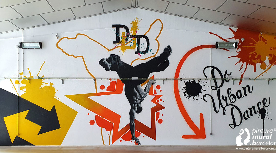 URBAN DANCE GRAFFITI MURAL